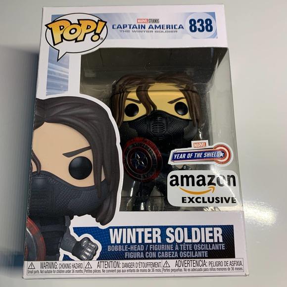 COPY - Funko Pop Winter Soldier Marvel Amazon